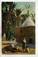 AFRIQUE  Dans L'Oasis Paysans Rue Village 1930  /D03-2016 - Ohne Zuordnung