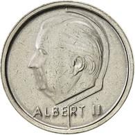 Belgique, Albert II, Franc, 1995, Brussels, TTB+, Nickel Plated Iron, KM:187 - 02. 1 Franc