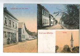 17802    Cpa   Gruss Aus UFFHOFEN  - FLONHEIM   : Superbe Carte Multivues !1918 ! - Allemagne