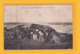 """ILE D'YEU -85- Le Monument Mégalithique Dit """"La Planche-à-Puare"""" - Ile D'Yeu"""
