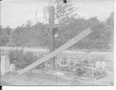 Printemps 1915 Cimetière Provisoire Français Du 20ème R.A Rgt.d'artillerie 1 Photo 1914-1918 Ww1 14-18 - War, Military