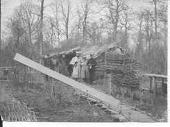 Soldats Français Du 20ème R.A Rgt.d'artillerie Et 315è R.I Rgt.Inf Popotte Dans Les Bois Village Nègre 1 Photo Ww1 14-18 - War, Military