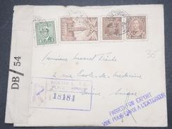 CANADA - Enveloppe En Recommandé De Montréal Pour La Suisse En 1945 Avec Contrôle Postal - L 9729 - 1937-1952 Règne De George VI