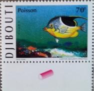 DJIBOUTI 1999 - YVERT YT 744 - MICHEL Mi 676- POISSON POISSONS FISH FISHES - MNH - RARE - Djibouti (1977-...)