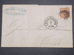 DANEMARK - Lettre De Hambourg Pour Haderslev En 1862 - L 9731 - 1851-63 (Frederik VII)