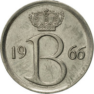 Belgique, 25 Centimes, 1966, Brussels, TTB+, Copper-nickel, KM:153.1 - 02. 25 Centimes