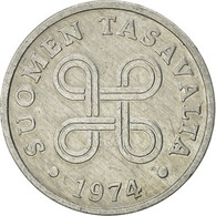 Finlande, Penni, 1974, TTB+, Aluminium, KM:44a - Finlande