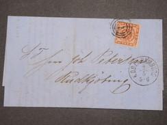 DANEMARK - Lettre De Hambourg  En 1862 - L 9732 - Lettres & Documents