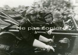 LIBERATION PARIS Généraux De GAULLE Et KOENIG 26 Août 1944 WWII - Oorlog, Militair