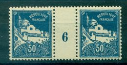 ALGERIE N° 47 Nxx Paire Millésime 6 Ttb Cote 20 € - Unused Stamps