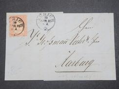 SUISSE - Lettre De Zurich Pour Aarburg En 1862 - L 9739 - Lettres & Documents