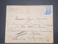 ESPAGNE - Enveloppe D'Espagne Pour La France En 1941 , Censure De Barcelone Et Contrôle Postal Allemand - L 9742 - Marcas De Censura Nacional