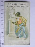 (87) Haute Vienne Chromo, Carte Commerciale - Grand Bazar 6 Porte De Tourny - Limoges (dans L'état) - Chromos