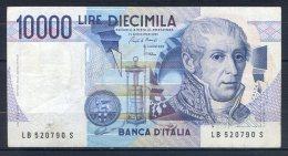 550-Italie Billet De 10 000 Lire 1985 LB520S - [ 2] 1946-… : République