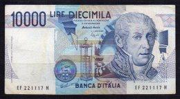 547-Italie Billet De 10 000 Lire 1994 EF221H - [ 2] 1946-… : République