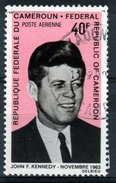 Cameroon, John F. Kennedy, 35th President Of The United States 1968, FUsed Airmail - Cameroon (1960-...)