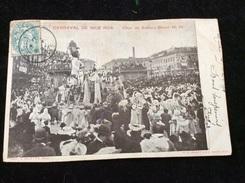 Nice Carnaval 1904 Char De Sahara Boum - Carnival