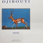 DJIBOUTI - EMPTY FDC COVER ENVELOPPE VIERGE - FAUNA FAUNE GAZELLE GAZELLES YT 742 B 742B Michel Mi 675 1999 RARE - Djibouti (1977-...)