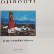 DJIBOUTI EMPTY - FDC VIERGE ENVELOPPE - TELECOM JOURNEE MONDIALE TELECOMMUNICATIONS DAY Michel Mi 674 1999 - RARE - Djibouti (1977-...)