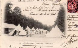 AVON - Le Camp - Vue Des Tentes - Avon