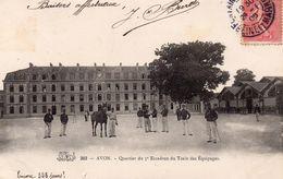 AVON - Quartier Du 5e Escadron Du Train Des Equipages - Avon