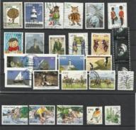 Irlande Lot De 26 Timbres Oblitérés - Colecciones & Series
