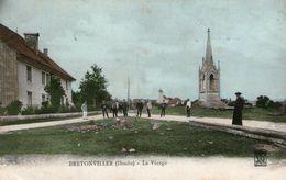 (Doubs) CPA  Bretonvillers La Vierge  (Bon Etat) - Andere Gemeenten
