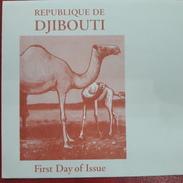 DJIBOUTI -EMPTY FDC COVER VIERGE - Faune Fauna Dromadaire Dromedar Camel Kamel Mi. 771 RARE - Djibouti (1977-...)