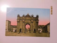 GERMANY POTSDAM  BRANDENBURGER TOR   , OLD POSTCARD  , K0 - Denkmäler