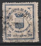 Napoli.  Marca Municipale Diritto Amministrativo C. 20 - Otros