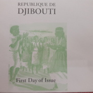 DJIBOUTI -EMPTY FDC COVER VIERGE - 2000 YT 821 COUPLE DANSEURS DANCE DANCING DANSE TRADTIONNELLE - RARE - Djibouti (1977-...)