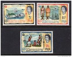 FIJI - 1966 DISCOVERY ANNIVERSARY SET (3V) FINE MNH ** SG 351-353 - Fiji (...-1970)