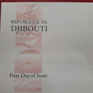 DJIBOUTI -EMPTY FDC COVER VIERGE - 2000 YT 834/8 838 FAUNA BIRDS FAUNE OISEAUX - RARE - Djibouti (1977-...)