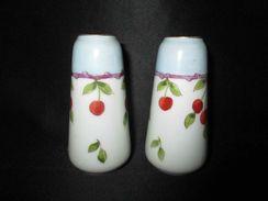 Ancienne Paire Vase Miniature Poupée Jeux Jouet Limoges J G Et Cie Début XX ème - Jouets Anciens