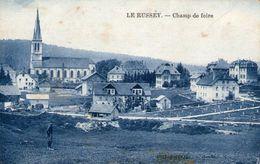 (Doubs)  CPA  Le Russey  Champ De Foire  (Bon Etat) - France