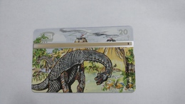 Austria-(p234)-brachiosaurus-(310l)-(20ein)-tirage-1.000-+1card Prepiad Free - Autriche