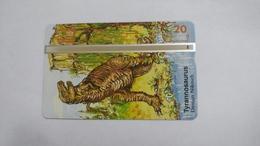 Austria-(p235)-tyrannosaurus-(310l)-(20ein)-tirage-1.000-+1card Prepiad Free - Autriche