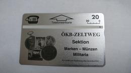 Austria-(p239)-OKB-zeltweg-(310l)-(20ein)-tirage-500-+1card Prepiad Free - Autriche