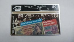 Austria-(p241)-1000 J.o.-wahrungsreform-(310l)-(50ein)-tirage-2.500-+1card Prepiad Free - Autriche