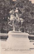 Cp , 41 , BLOIS , Statue De Jeanne D'Arc, Sculptée Par Miss HYATT, Offerte Par Le Comité Américain, Inaugurée 13/08/1921 - Blois