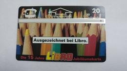 Austria-(p243)-libro-stifte-(311l)-(20ein)-tirage-3.000-+1card Prepiad Free - Autriche