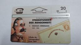 Austria-(p261)-sternstunden2-(311l)-(20ein)-tirage-1.000-+1card Prepiad Free - Autriche