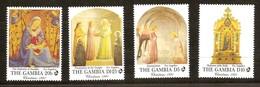 Gambia 1991 Yvertn° 1085-1088  *** MNH  Cote 55 FF Noël Christmas Kerstmis - Gambie (1965-...)