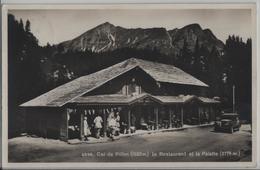 Col Du Pillon - Le Restaurant Et La Palette - Animee Oldtimer - Photo: Societe Graphique - VD Vaud