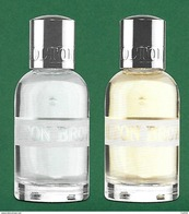 F - Lot De 2 Répliques Molton Brown - Perfume Card - - Perfume Cards
