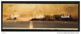 2008 Finland, 10 C 3-strip MNH **. - Unused Stamps