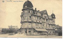 COQ SUR MER (De Haan) Grand Hôtel Belle Vue   (voyagé)) - De Haan