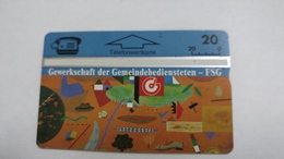 Austria-(p283)-GdG-FSG-(402l)-(20ein)-tirage-166.015-+1card Prepiad Free - Autriche