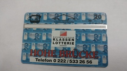 Austria-(p290)-hohe Brucke-(442l)-(20ein)-tirage-32.000-+1card Prepiad Free - Autriche