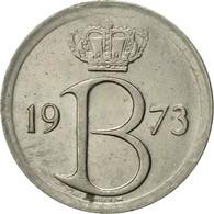 Belgique, 25 Centimes, 1973, Brussels, TTB+, Copper-nickel, KM:154.1 - 02. 25 Centimes